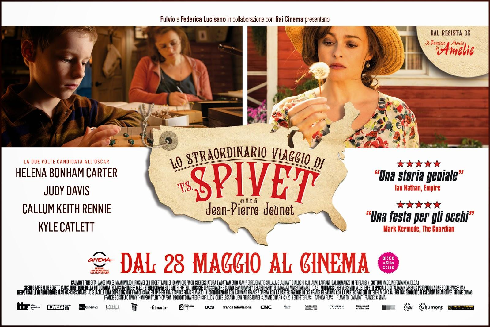 Lo straordinario viaggio di T.S. Spivet in 3D 2014 Film Intero