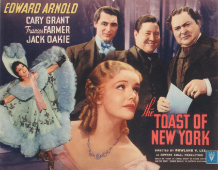 The toast of New York