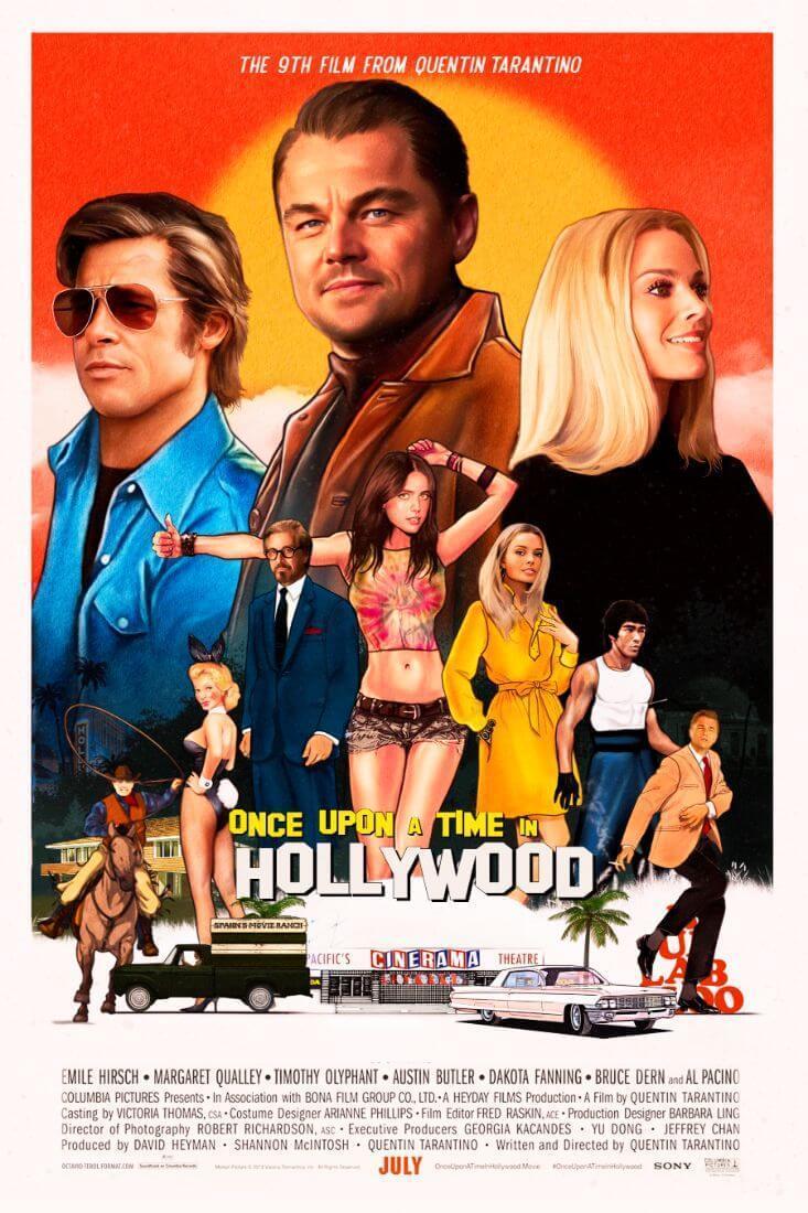C'erauna voltaa Hollywood