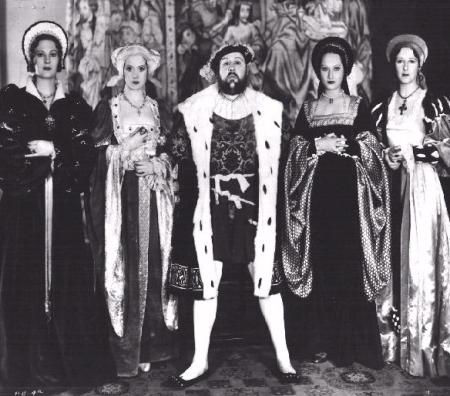 Le sei mogli di Enrico ottavo